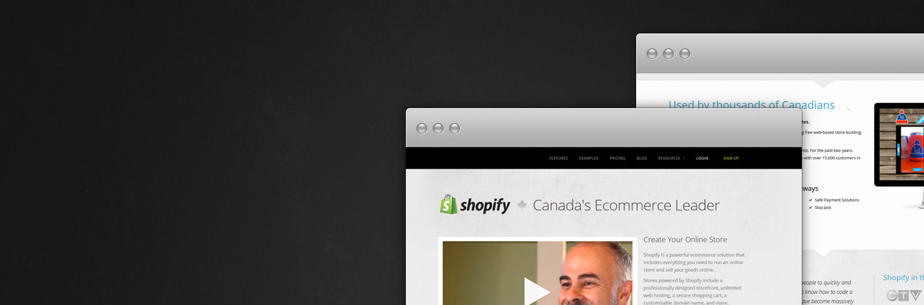 Ottawa Web Design Shopify